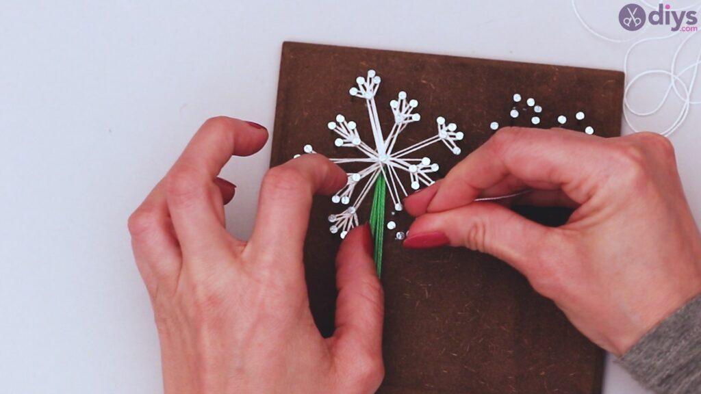 String dandelion wall art step 1 (29)