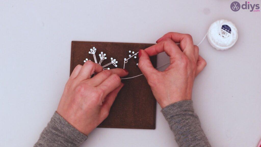 String dandelion wall art step 1 (30)