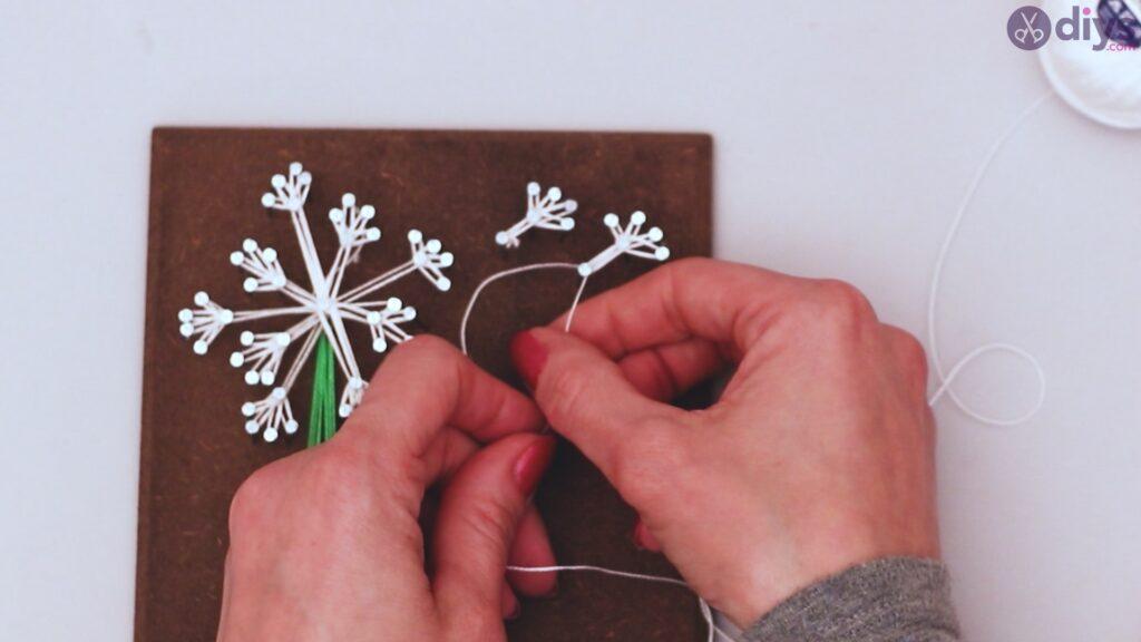 String dandelion wall art step 1 (31)