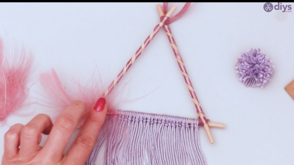Triangle dreamcatcher diy project step 1 (47)