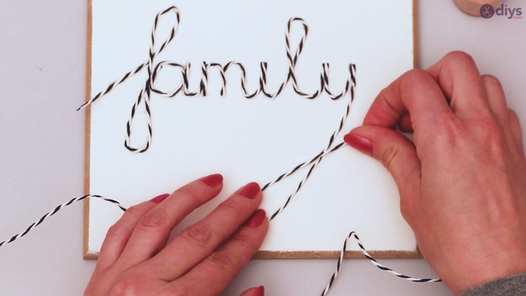 Twine string wall decor diy simple project (17)