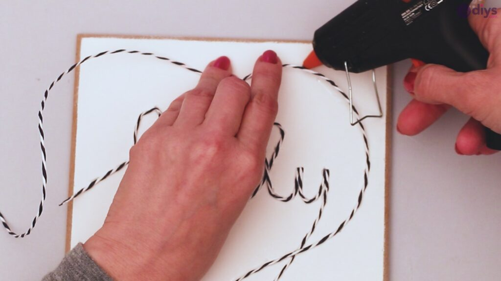 Twine string wall decor diy simple project (18)