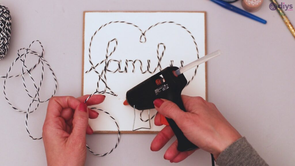 Twine string wall decor diy simple project (20)