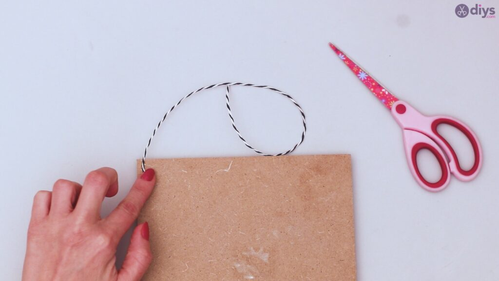 Twine string wall decor diy simple project (33)