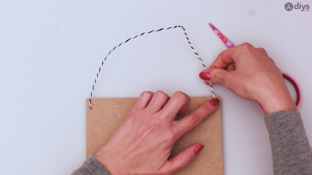 Twine string wall decor diy simple project (34)