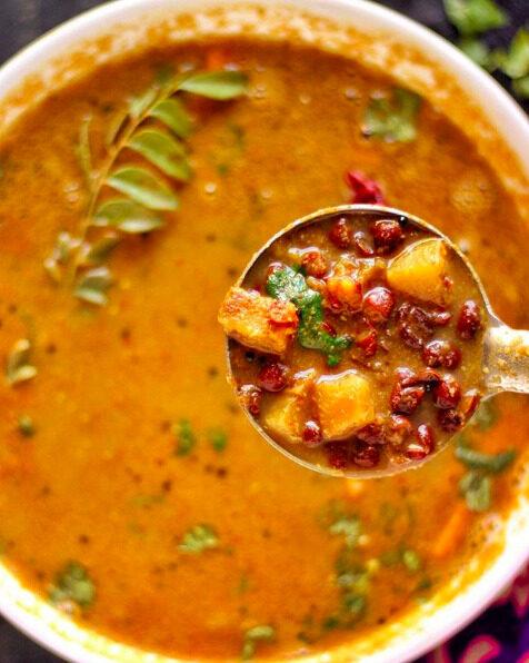 Adzuki bean stew