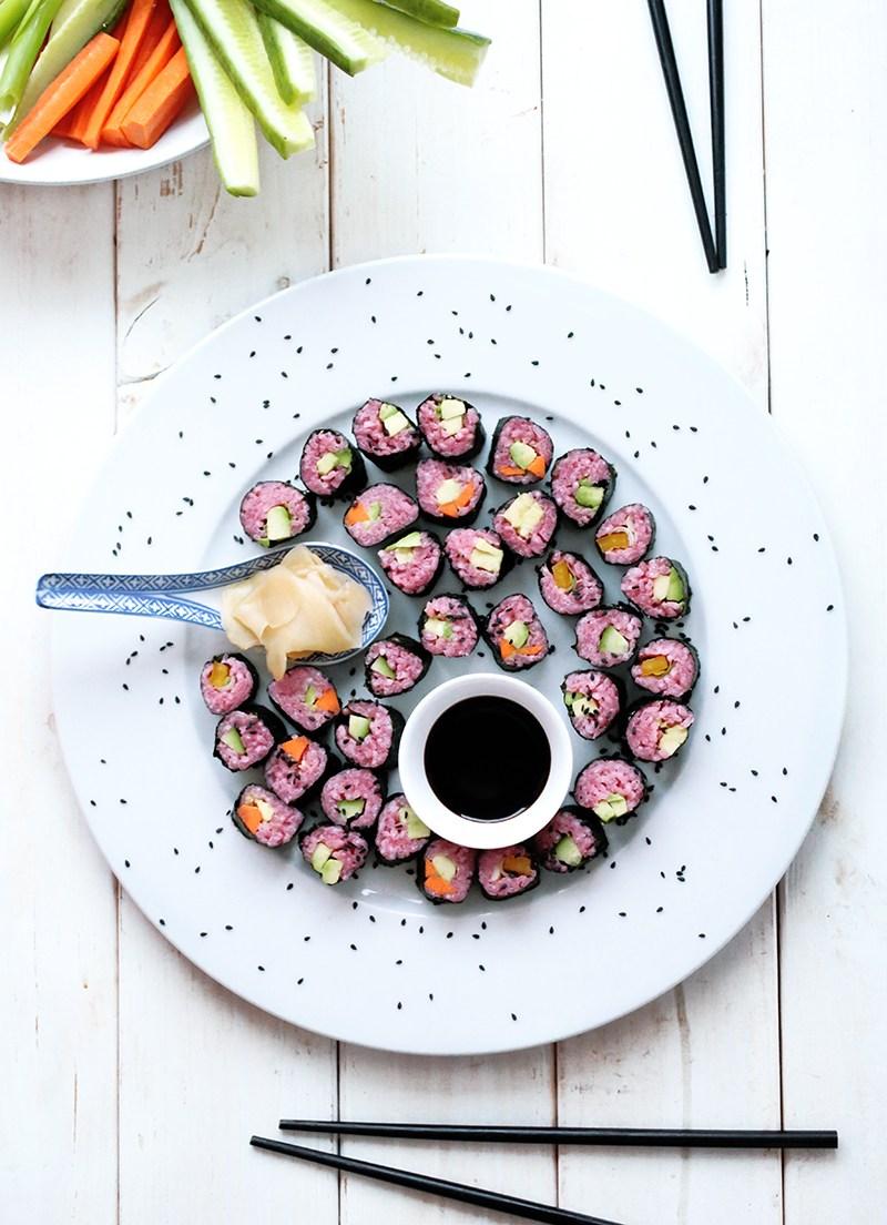 Greenevi pink sushi