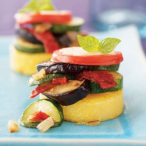 polenta stacks recipe