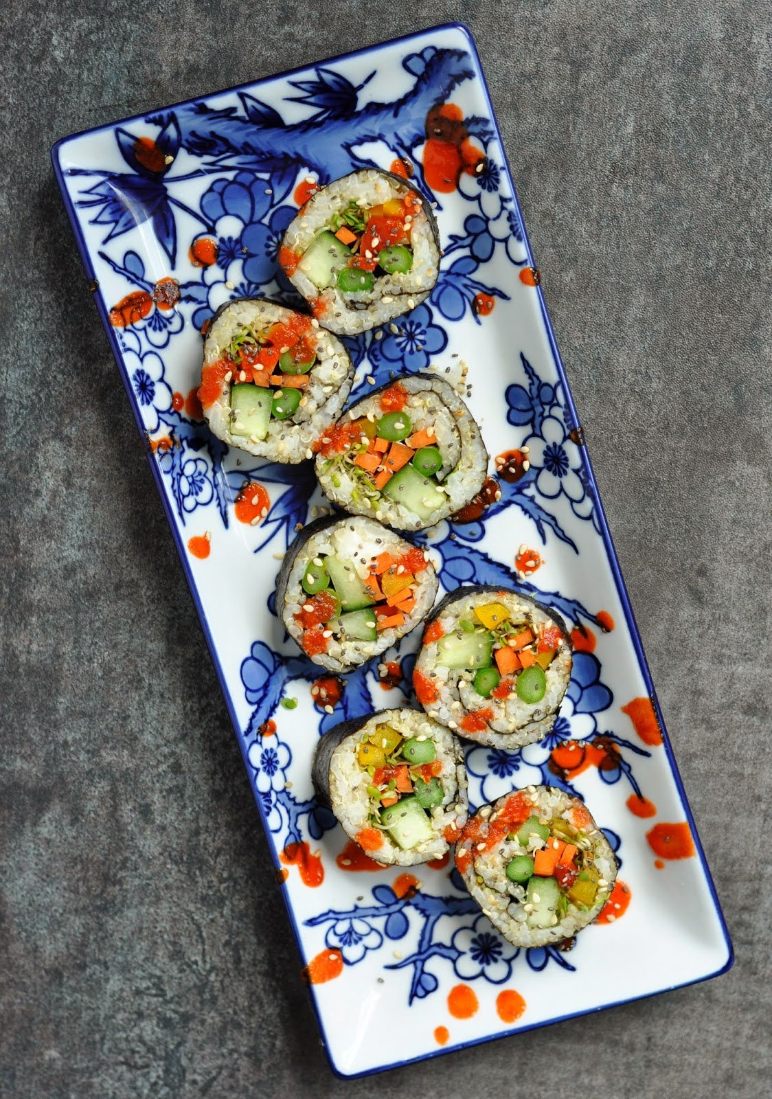 20 Vegetarian Sushi Recipe Rolls To Whip Up (Or Roll)