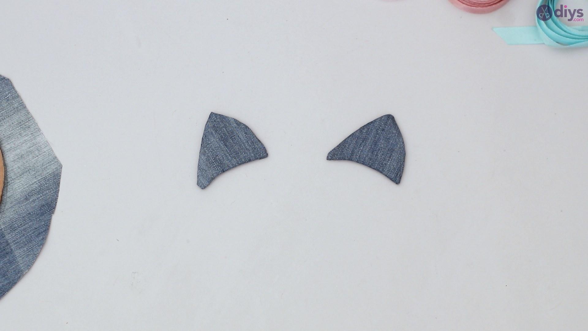 Cat face hair clip holder (22)