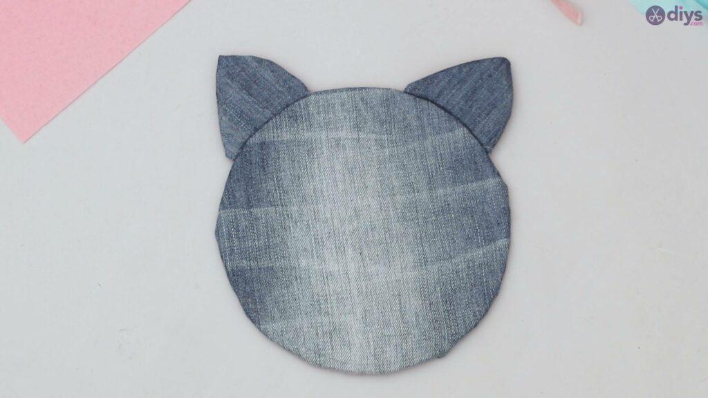 Cat face hair clip holder (32)