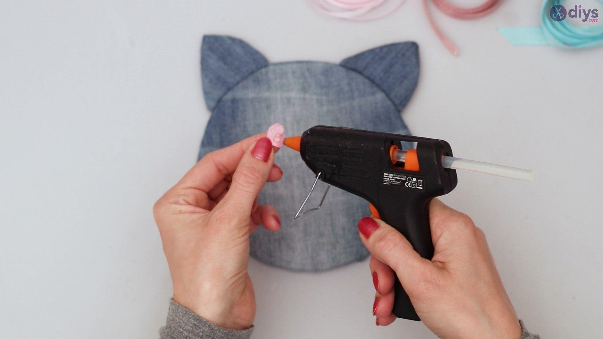 Cat face hair clip holder (35)