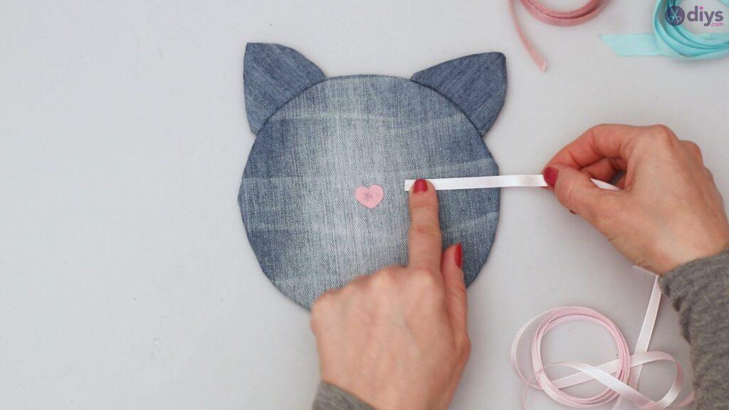 Cat face hair clip holder (37)