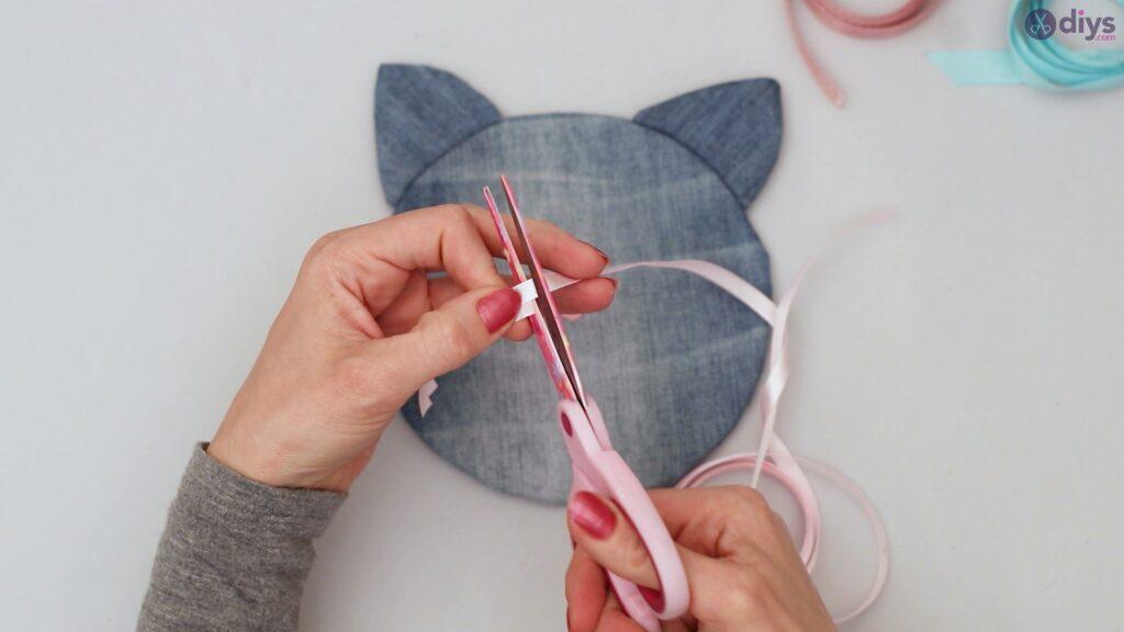 Cat face hair clip holder (39)