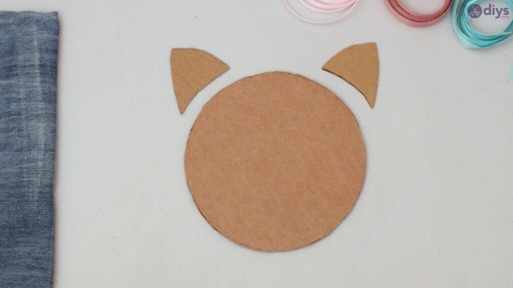 Cat face hair clip holder (4)