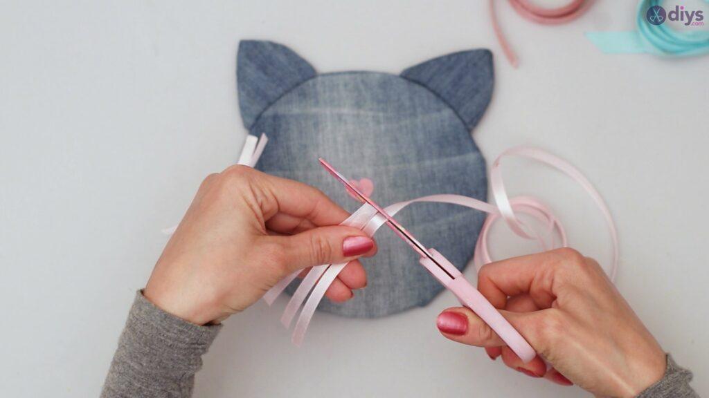 Cat face hair clip holder (40)