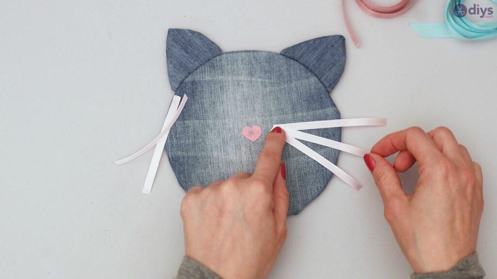 Cat face hair clip holder (42)