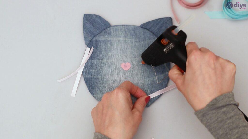 Cat face hair clip holder (43)