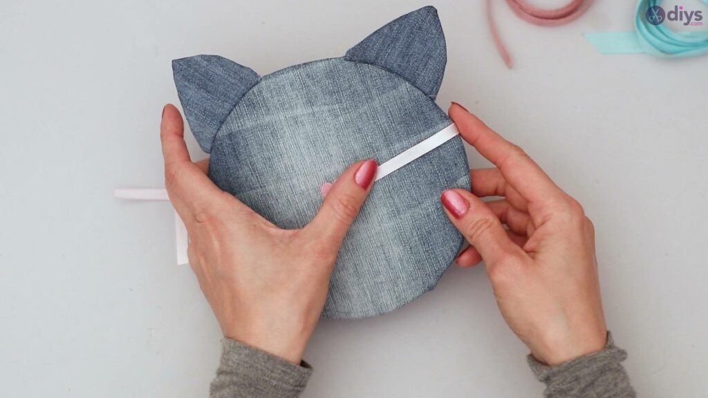 Cat face hair clip holder (45)