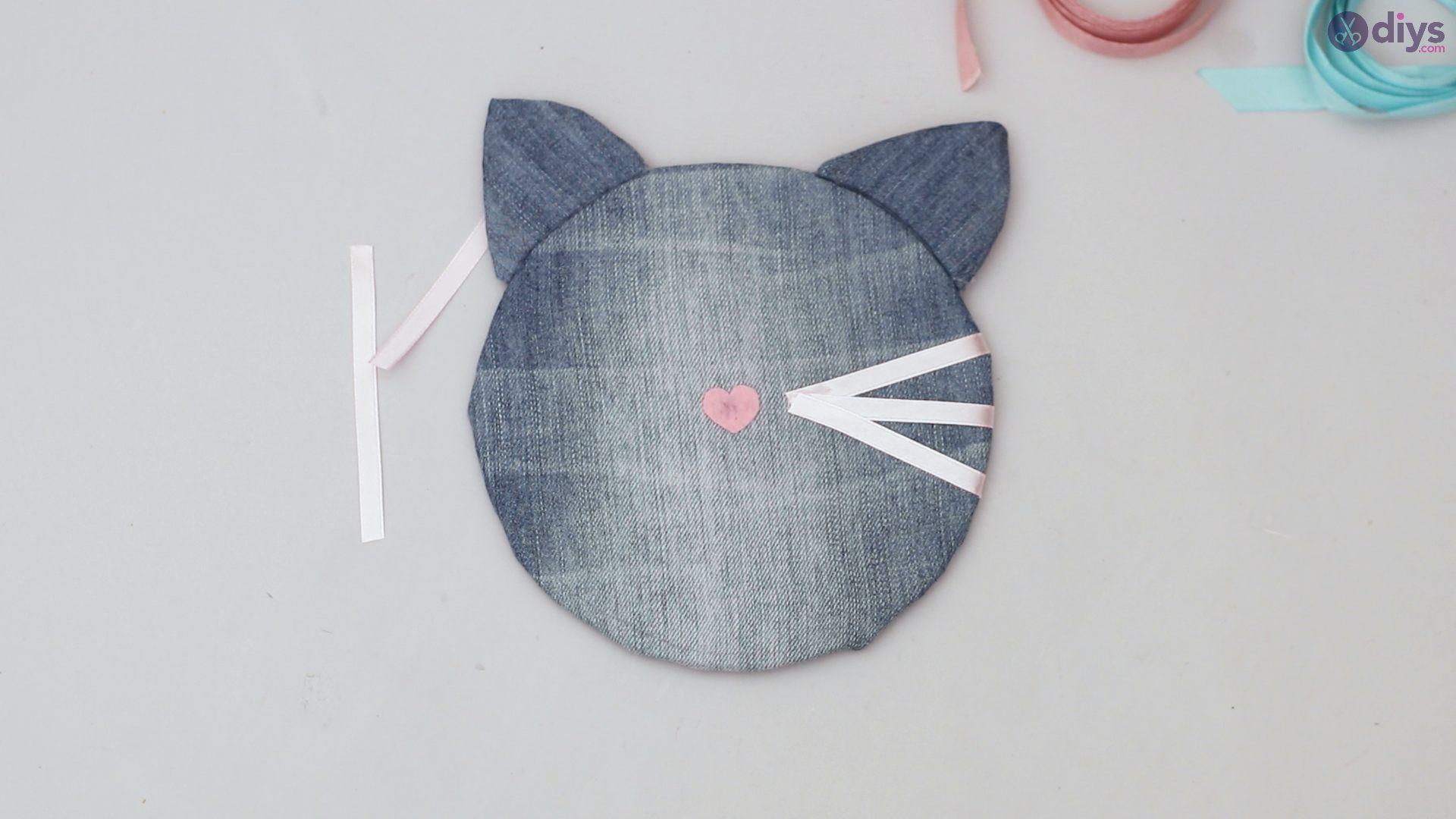 Cat face hair clip holder (48)
