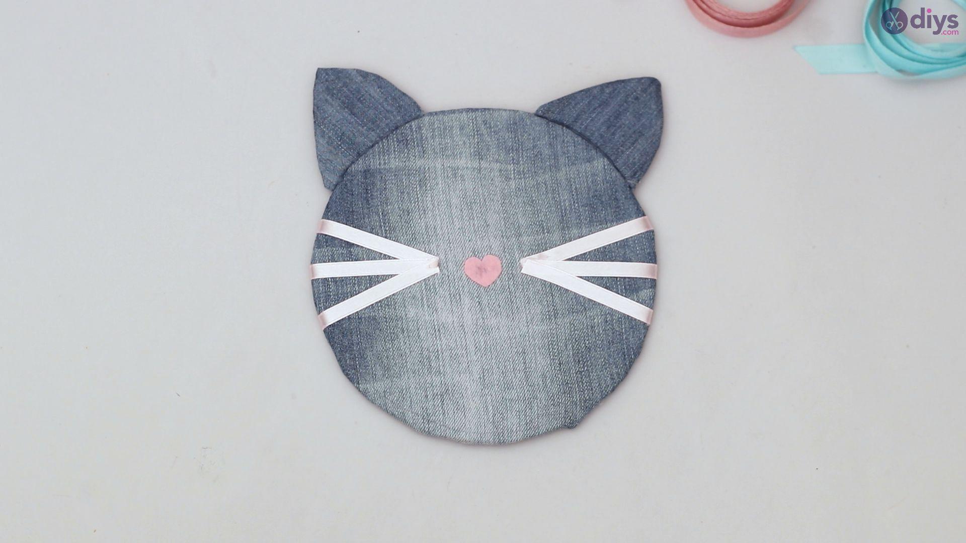 Cat face hair clip holder (49)