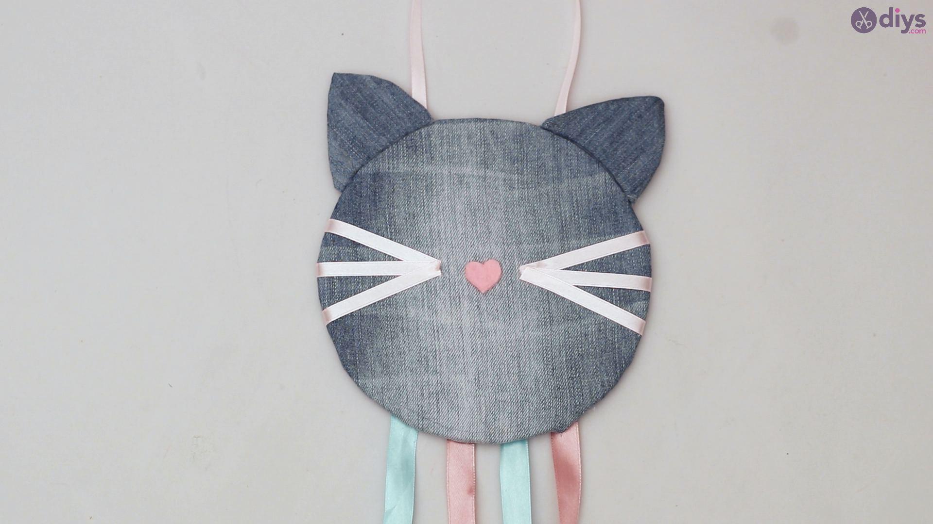 Cat face hair clip holder (68)