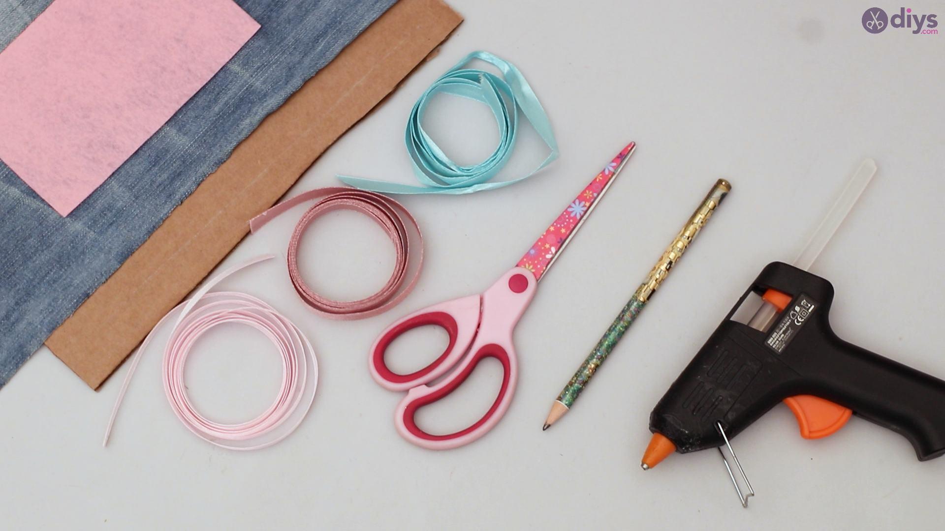 Cat face hair clip holder materials