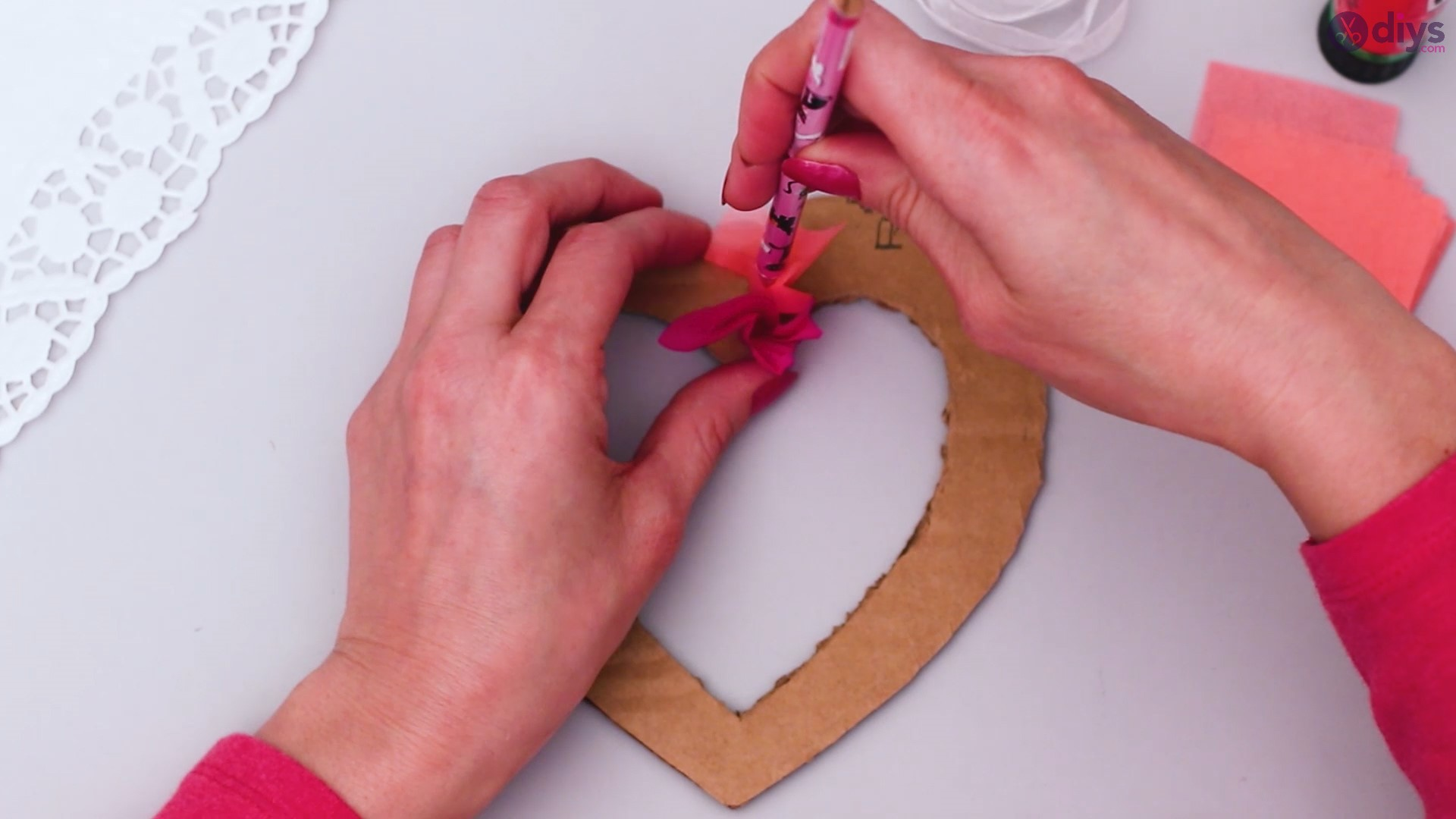 Diy tissue paper puffy heart step 1 (18)