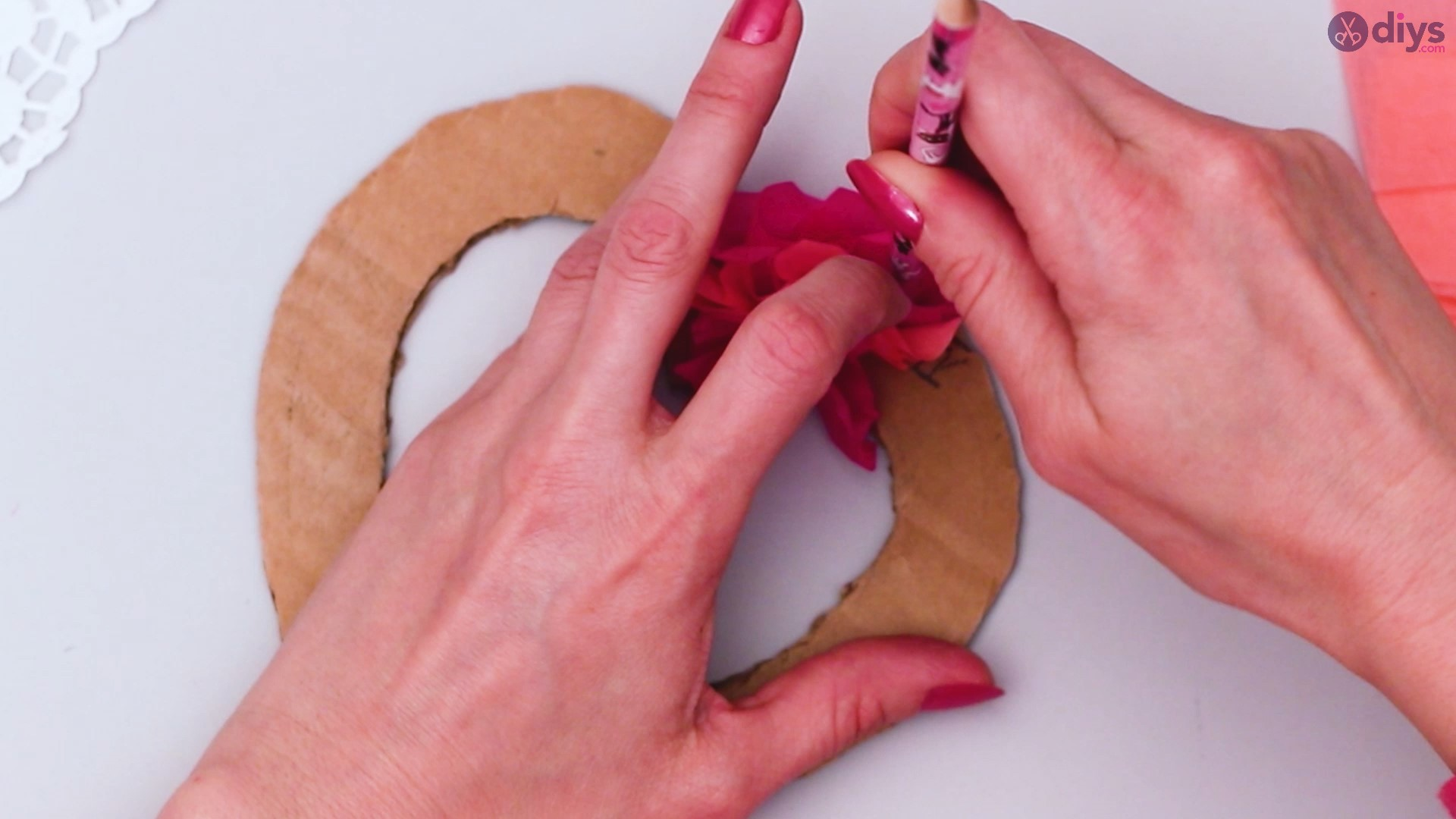 Diy tissue paper puffy heart step 1 (21)