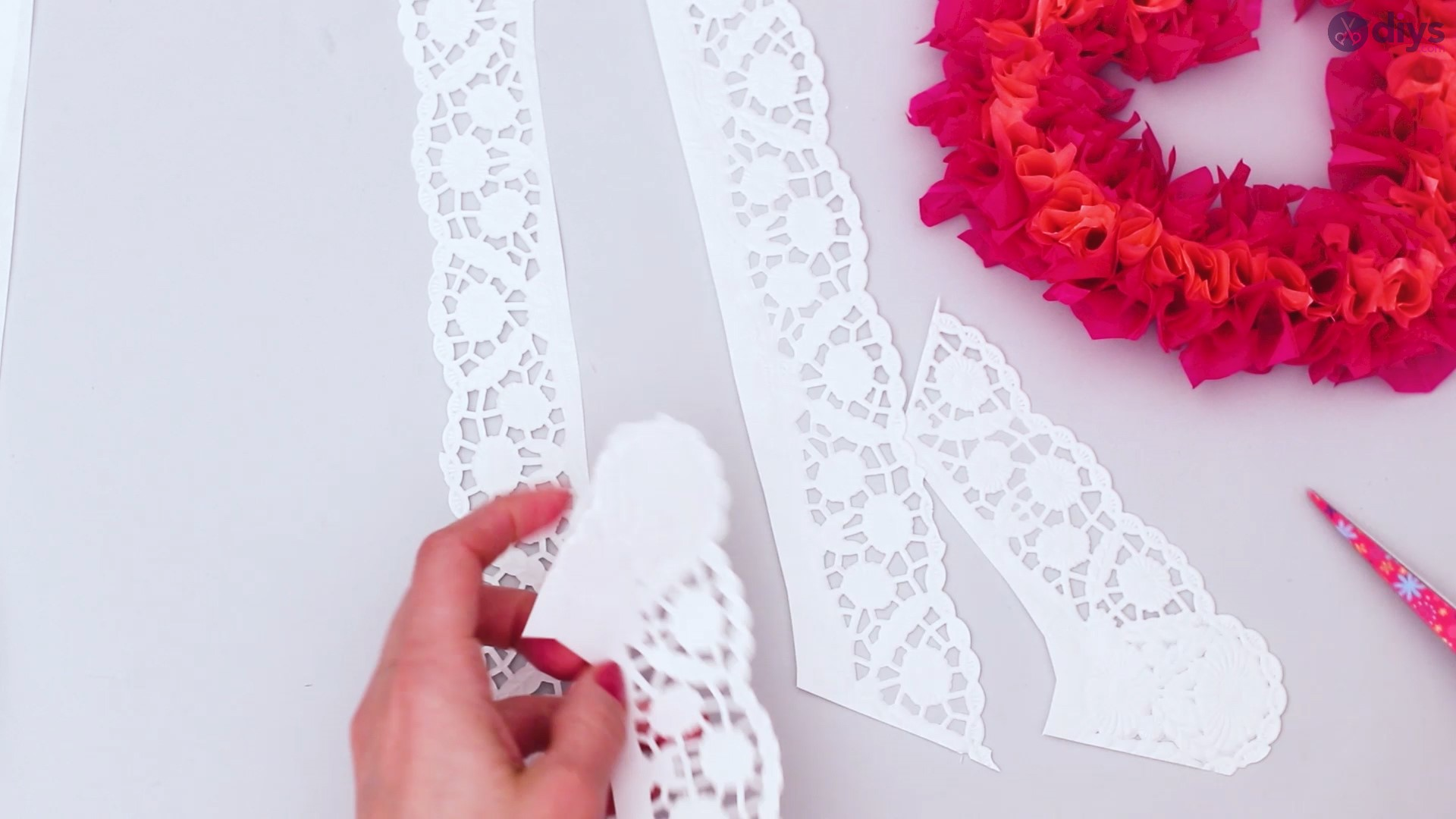 Diy tissue paper puffy heart step 1 (30)