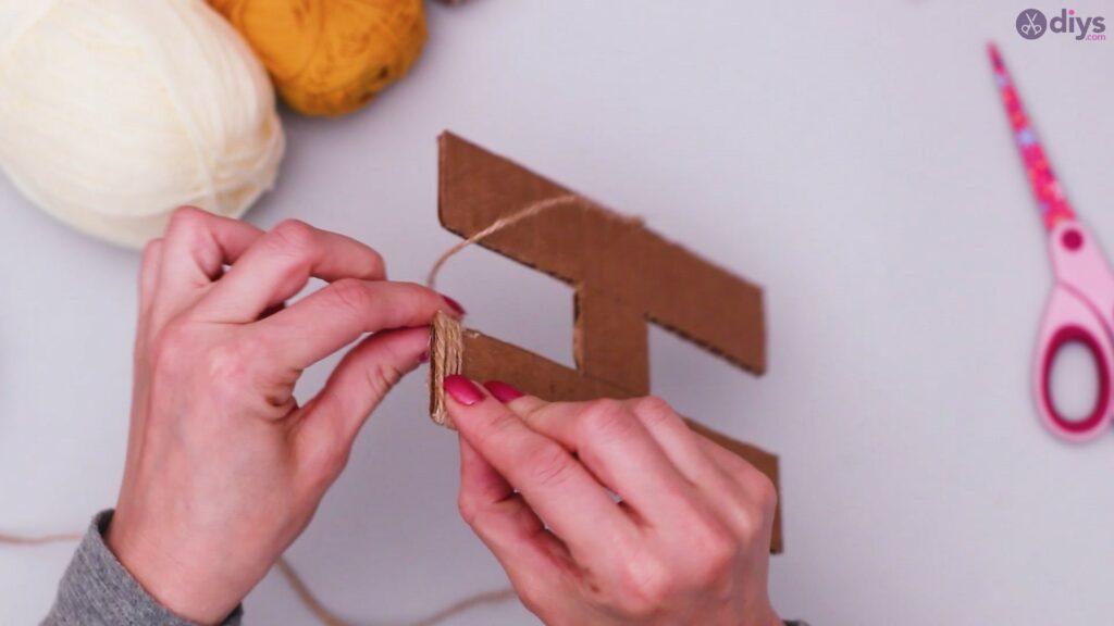 Diy yarn letter step by step craft (12)