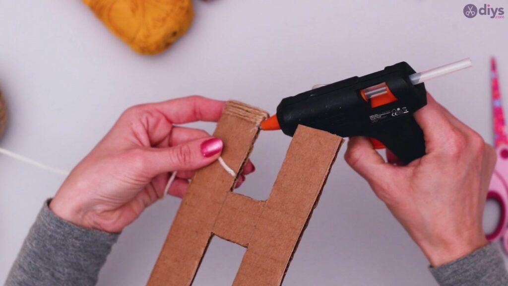 Diy yarn letter step by step craft (17)