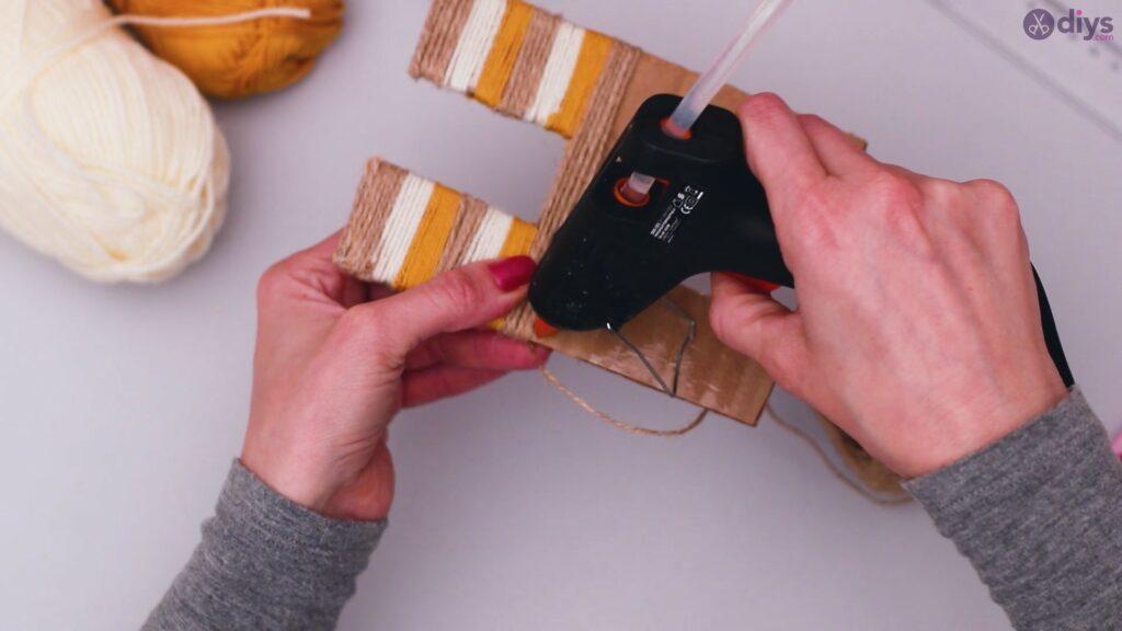 Diy yarn letter step by step craft (25)