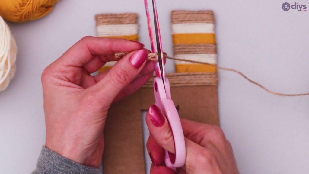Diy yarn letter step by step craft (27)