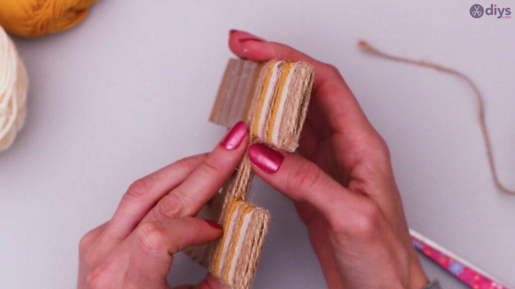 Diy yarn letter step by step craft (29)