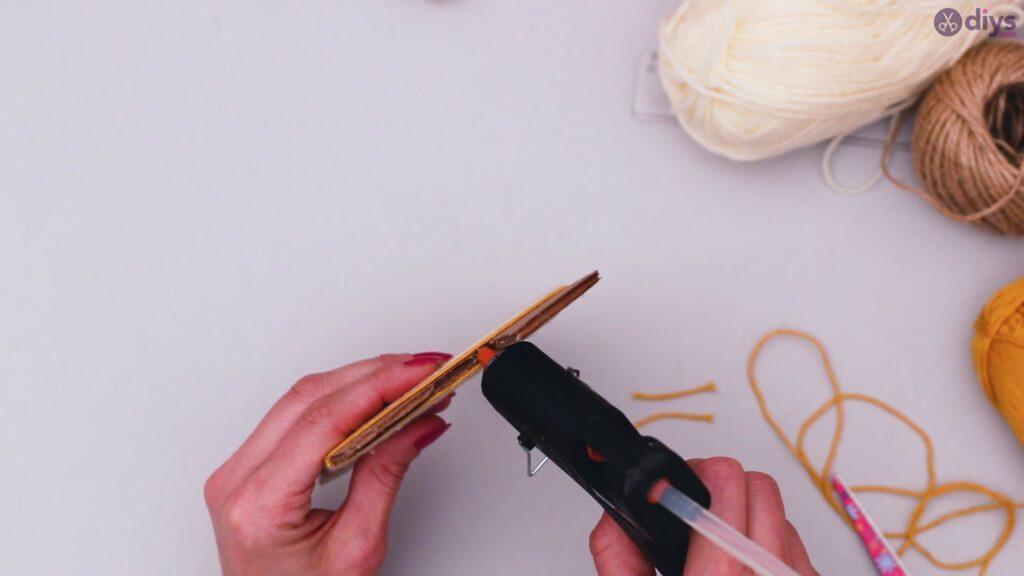 Diy yarn letter step by step craft (36)