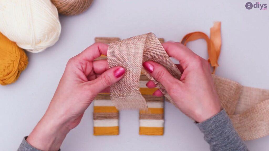 Diy yarn letter step by step craft (41)