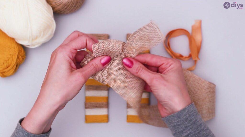 Diy yarn letter step by step craft (42)