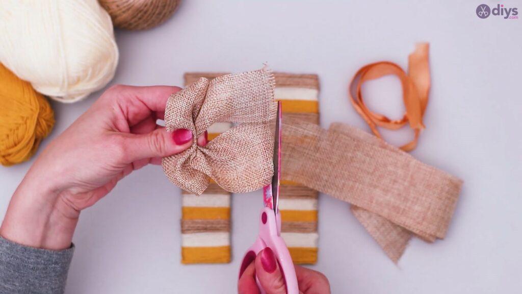 Diy yarn letter step by step craft (43)