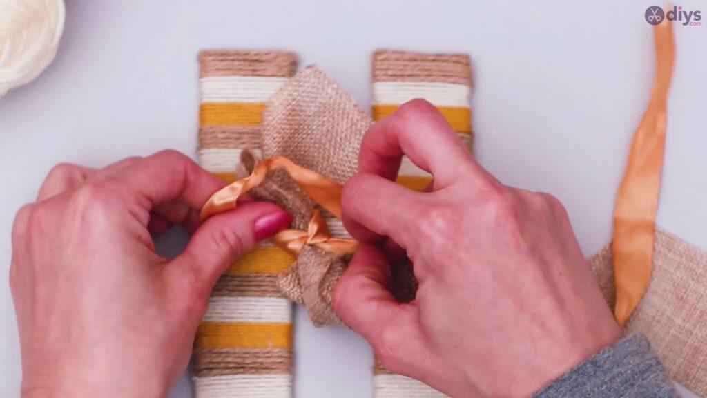 Diy yarn letter step by step craft (44)