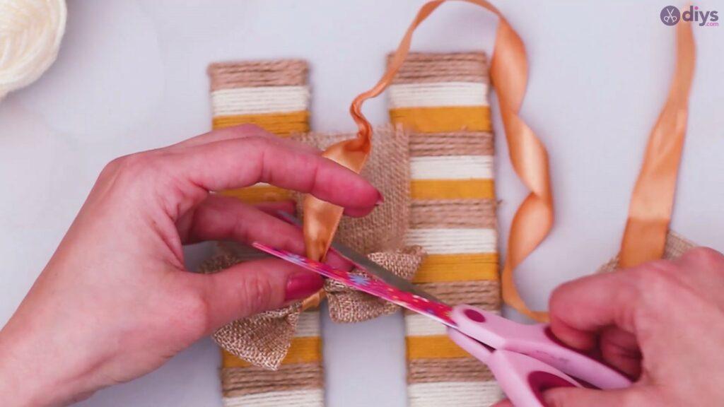 Diy yarn letter step by step craft (45)