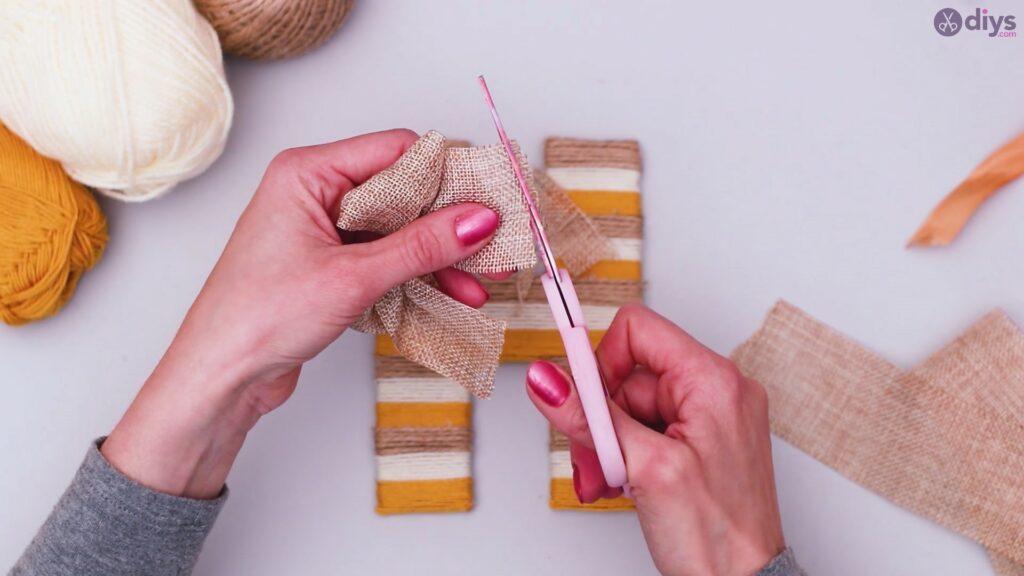 Diy yarn letter step by step craft (46)