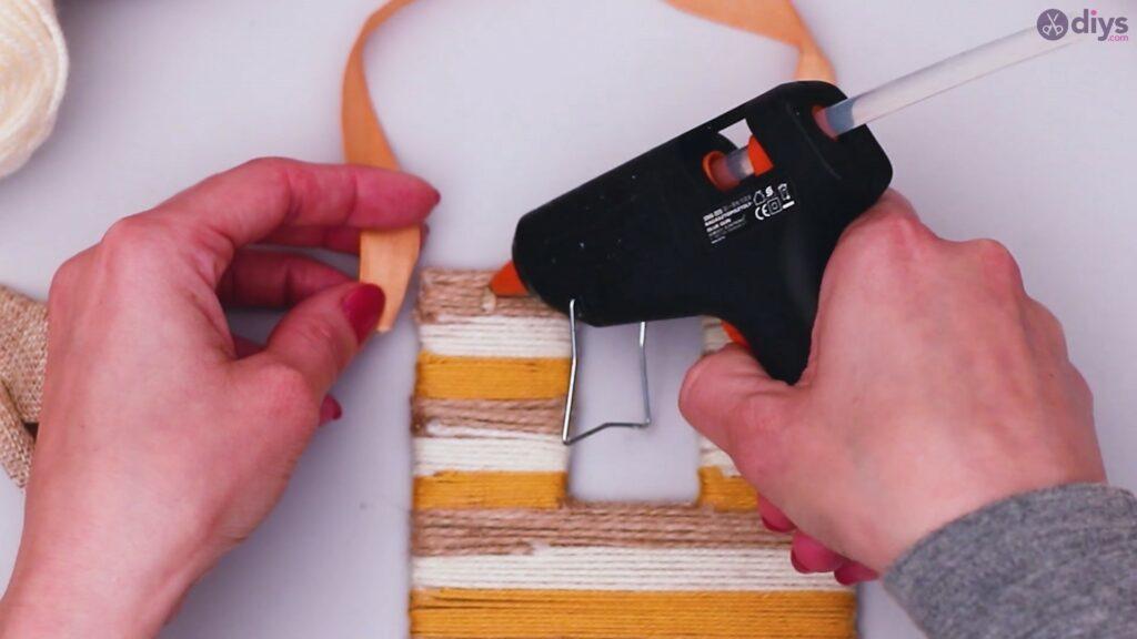 Diy yarn letter step by step craft (47)