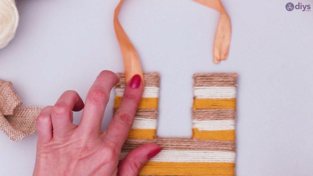 Diy yarn letter step by step craft (48)