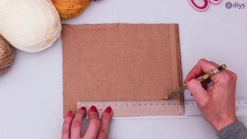 Diy yarn letter step by step craft (5)