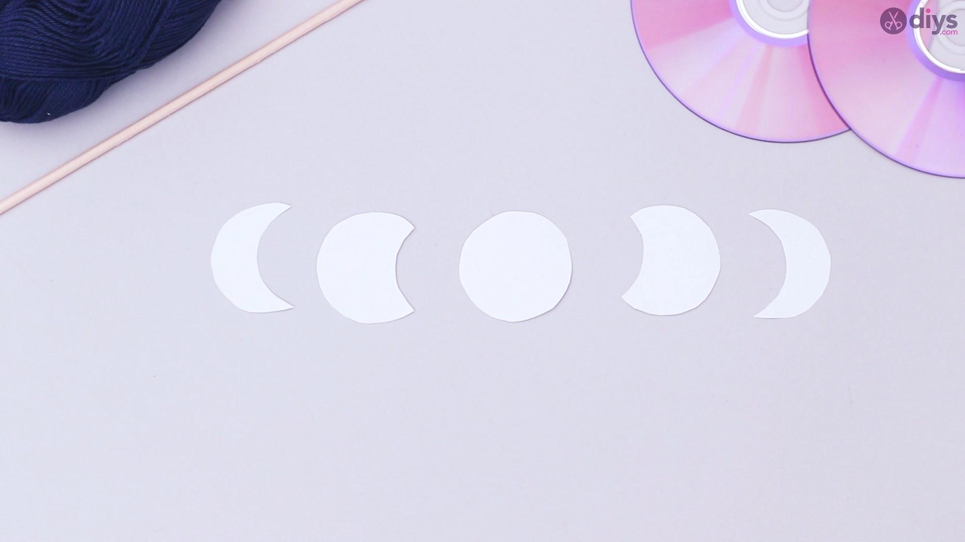Lunar eclipse cd wall hanging (1)