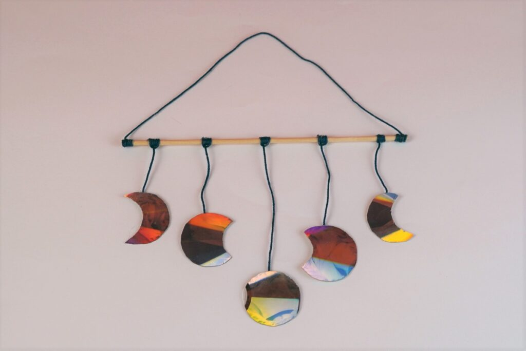Lunar Eclipse CD Wall Hanging