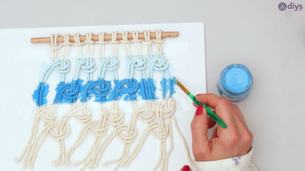 Ombre macrame wall hanging (29)