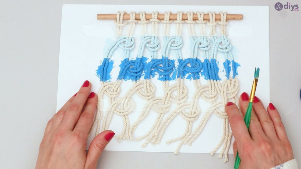 Ombre macrame wall hanging (31)