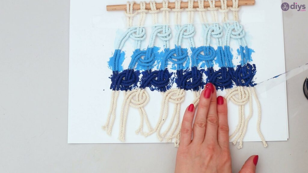 Ombre macrame wall hanging (34)